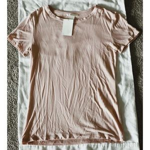 NWT light pink H&M t-shirt!